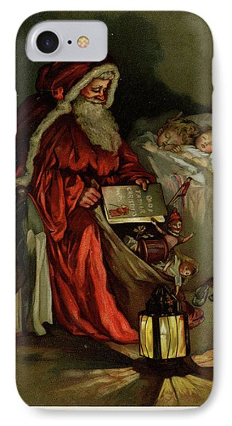 Father Christmas IPhone Case by British Library
