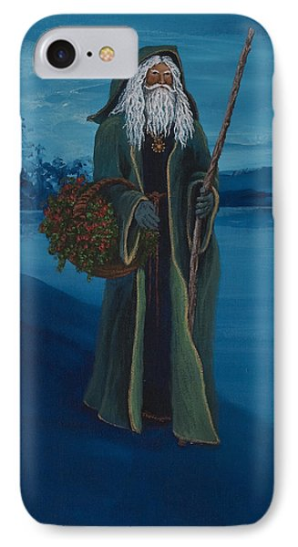 Father Christmas Phone Case by Darice Machel McGuire