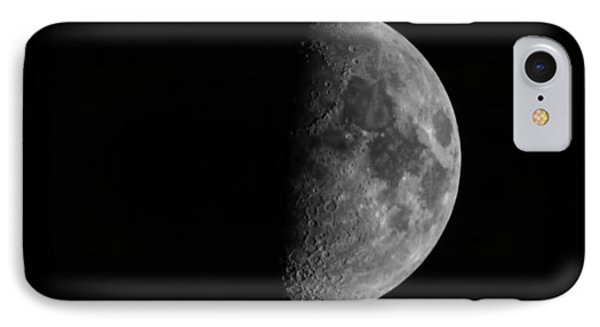 Fathers Day Moon 1  IPhone Case by Thomas Young