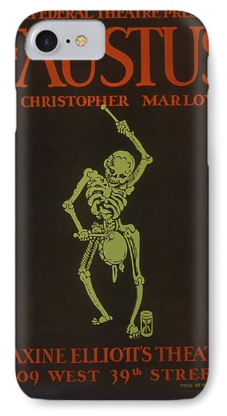 Faustus By Christopher Marlowe IPhone Case