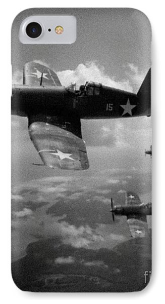 Faux Wwii Corsair Photo IPhone Case