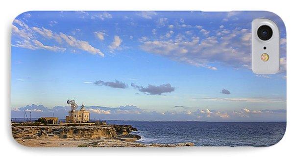 Favignana - Lighthouse IPhone Case by Alfio Finocchiaro