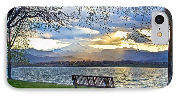 Favorite Bench And Lake View Phone Case by James BO  Insogna