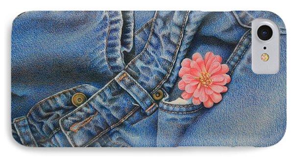 Favorite Jeans Phone Case by Pamela Clements