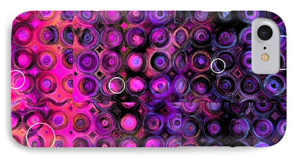 IPhone Case featuring the digital art Favorite Old Quilt by Judi Suni Hall