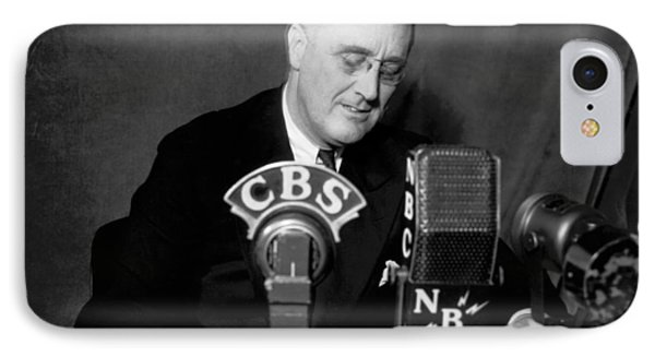 Fdr Addresses Labor Strikes IPhone Case by Underwood Archives