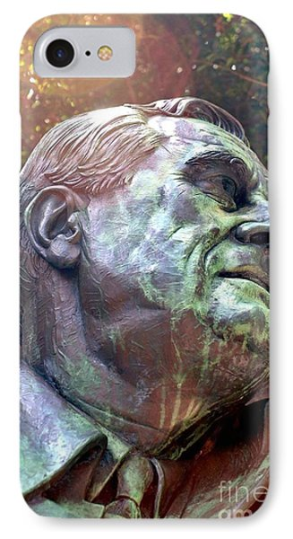 Fdr Memorial IPhone Case by Mike Baltzgar