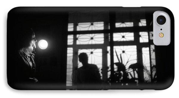 Fear Of The Dark Phone Case by Taylan Apukovska