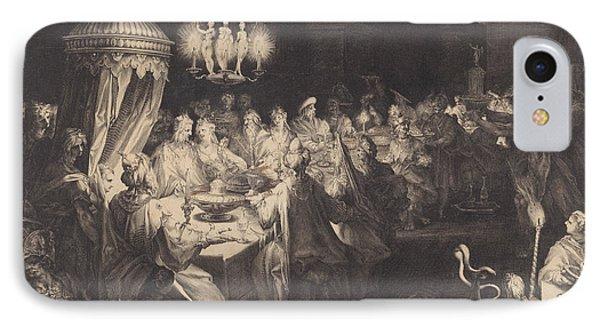Feast Of Belshazzar IPhone Case