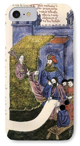 Feast Of Purim, 1430 Artwork IPhone Case by Patrick Landmann