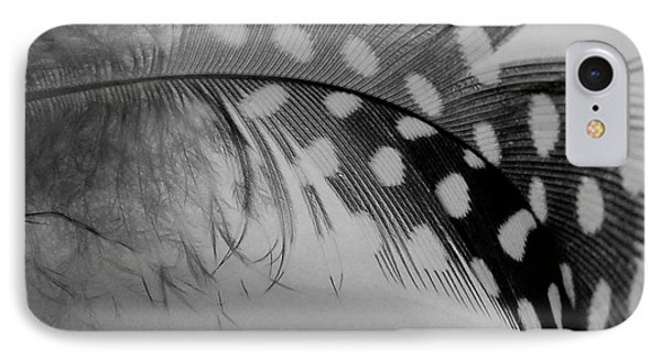 Feather 2 IPhone Case by Sally Simon