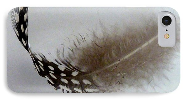 Feather 3 IPhone Case by Sally Simon