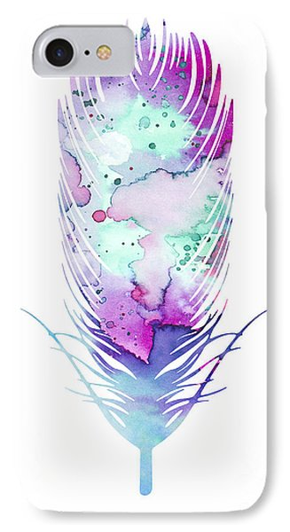 Feather 5 IPhone Case