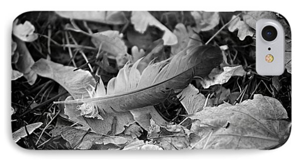 Feather And Leaves IPhone Case