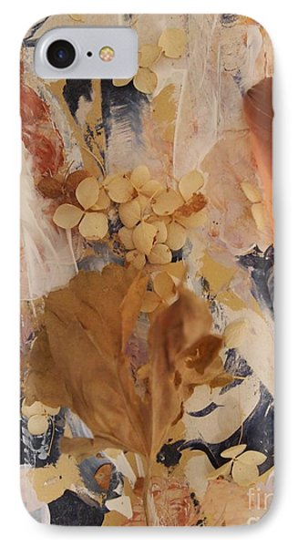 IPhone Case featuring the mixed media Feather Fantasy by Nancy Kane Chapman