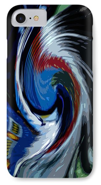 IPhone Case featuring the photograph Feather Whirl by Randy Pollard
