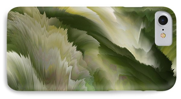 Feathered Hills And Valleys Phone Case by Patricia Kay