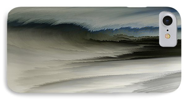 Feathered Seascape Phone Case by Patricia Kay