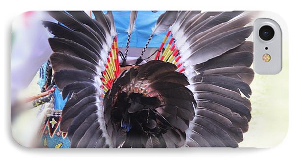 IPhone Case featuring the photograph Feathers Decoration  by Yumi Johnson