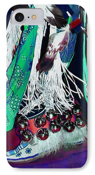 Feathers Fringe And Bells IPhone Case by Kae Cheatham