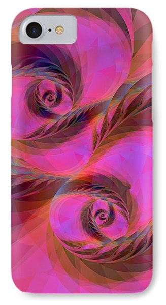 Feathers In The Wind IPhone Case by Judi Suni Hall