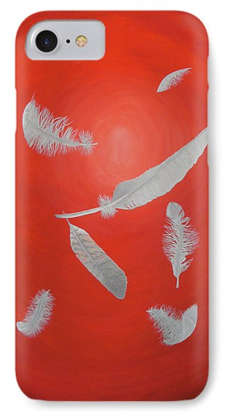 Feathers Phone Case by Sven Fischer