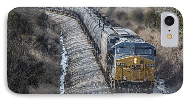 February 12. 2015 - Csx Engine 542 IPhone Case by Jim Pearson