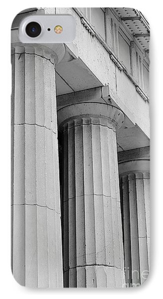 Federal Hall Columns Phone Case by Jerry Fornarotto