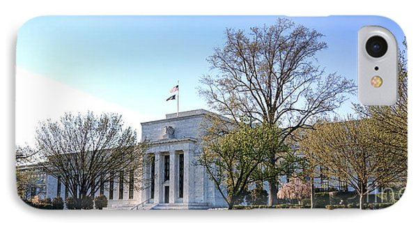 Federal Reserve Building IPhone Case by Olivier Le Queinec