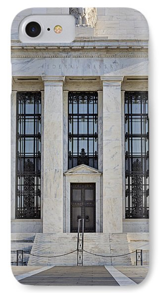 Federal Reserve Phone Case by Susan Candelario