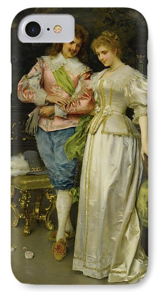 Betrothed IPhone Case by Federico Andreotti