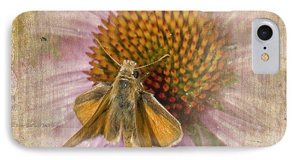 Feeding Moth IPhone Case