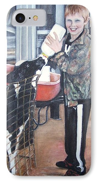 Feeding Time  IPhone Case by Martha Suhocke