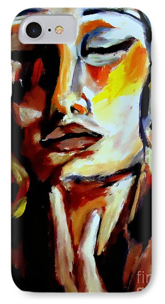 IPhone Case featuring the painting Feel by Helena Wierzbicki