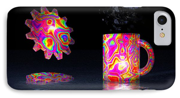 IPhone Case featuring the digital art Feelin' Groovy by Jacqueline Lloyd