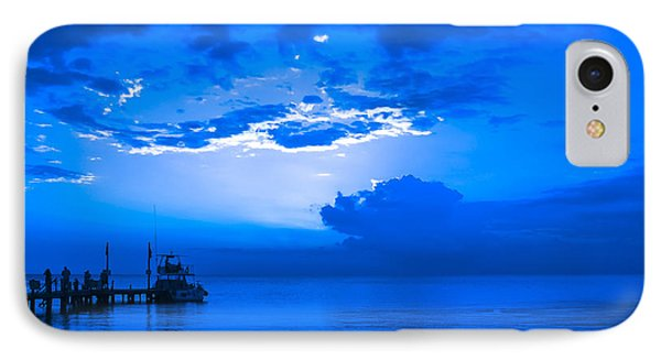 IPhone Case featuring the photograph Feeling Blue by Phil Abrams
