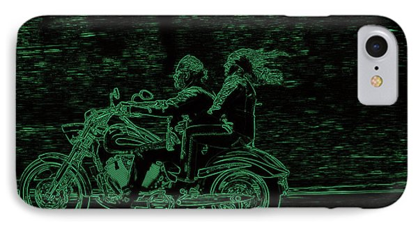 Feeling The Ride Phone Case by Karol Livote