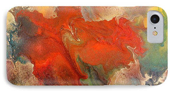Feelings Eruption Phone Case by Julia Fine Art And Photography
