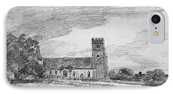 Feering Church, 1814 IPhone Case