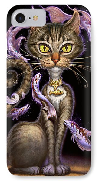 Feline Fantasy IPhone Case by Jeff Haynie