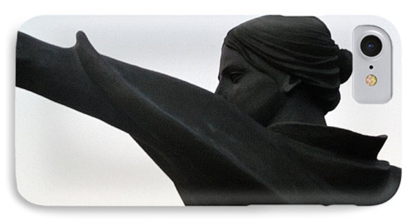 Female Educator Reaching Out Two Phone Case by Tina M Wenger