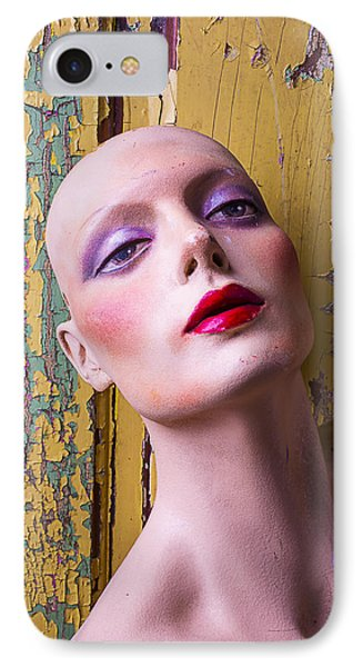 Female Mannequin IPhone Case by Garry Gay