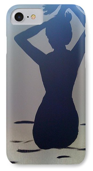 Female Silhouette IPhone Case