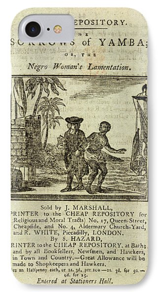 Female Slave IPhone Case by British Library