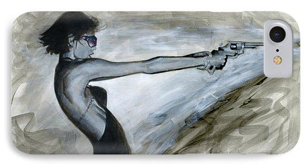 Femme Fatale IPhone Case by Luis  Navarro