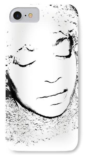 Femme In Headdress IPhone Case