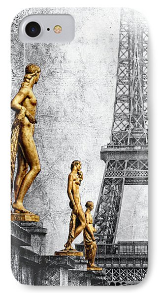 femmes parisiennes III IPhone Case by Joachim G Pinkawa