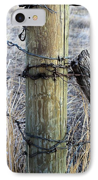 Fence Corner IPhone Case