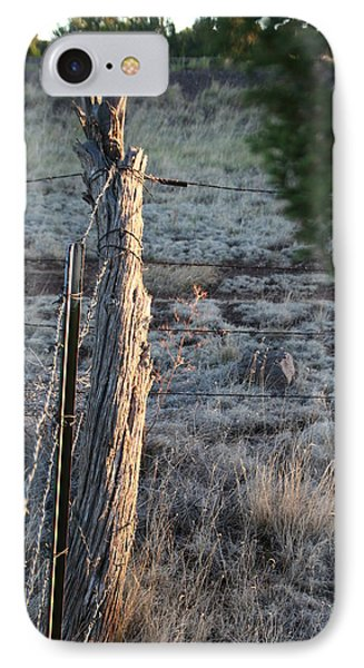 IPhone Case featuring the photograph Fence Post by David S Reynolds
