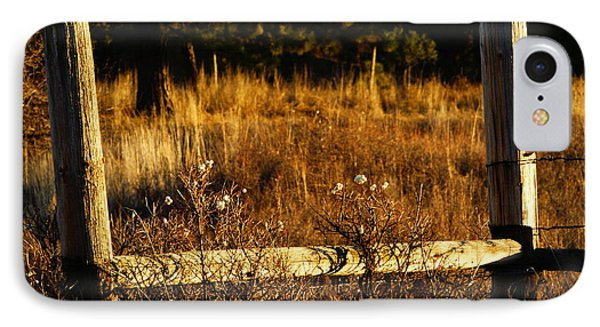 Fence Posts IPhone Case
